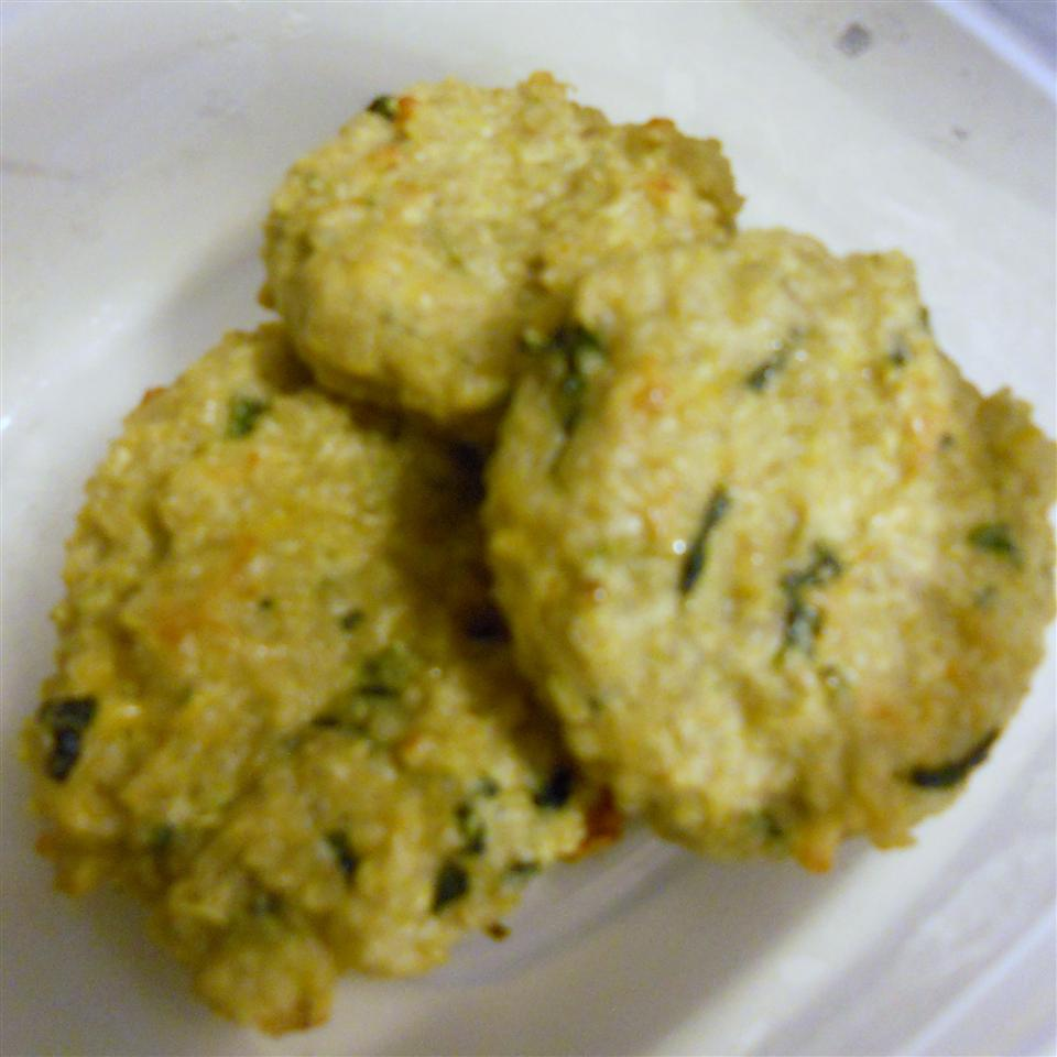 Mini Baked Quinoa Patties Bonsbabyrecipes