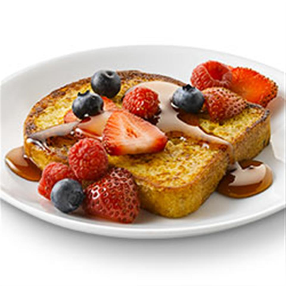 French Toast with Mixed Berries with Truvia® Natural Sweetener
