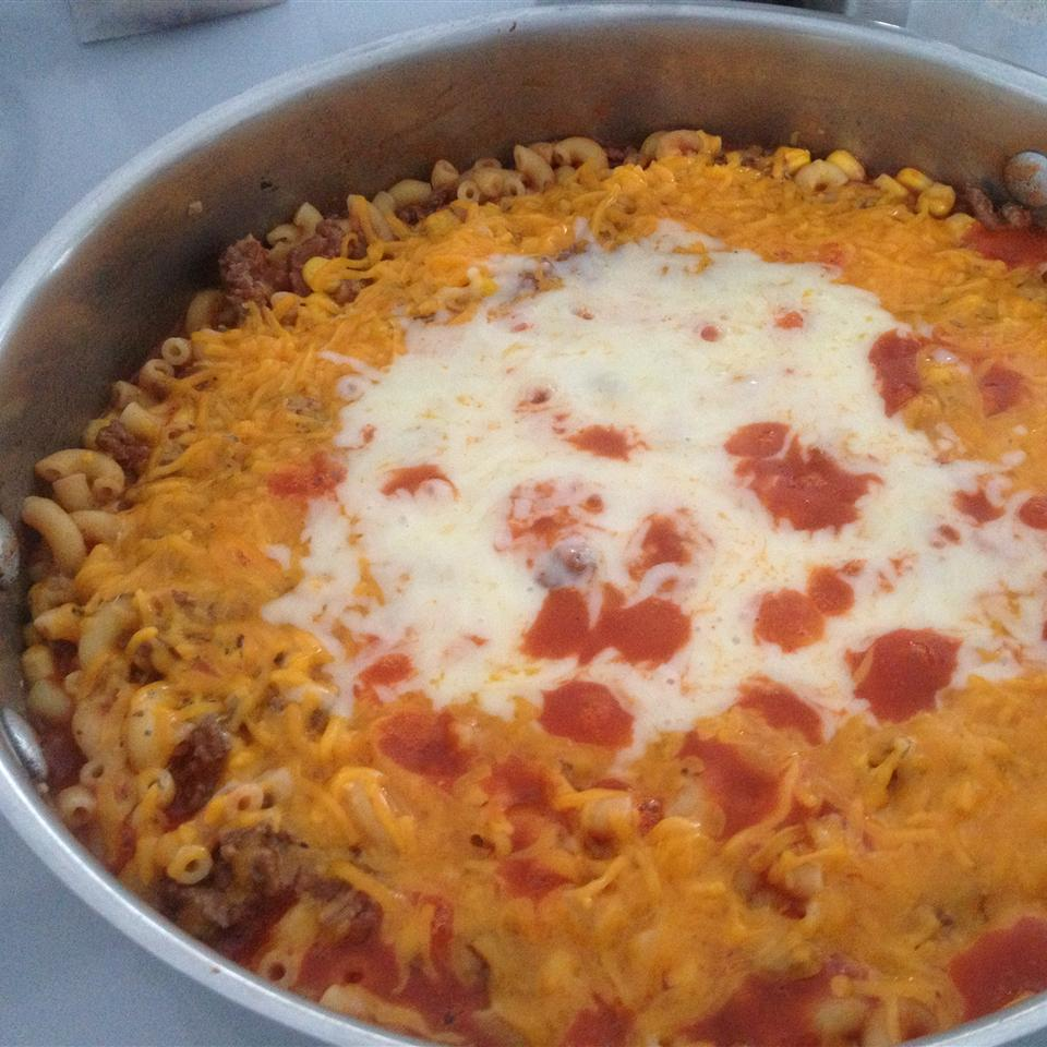 Hamburger and Macaroni Hot Dish