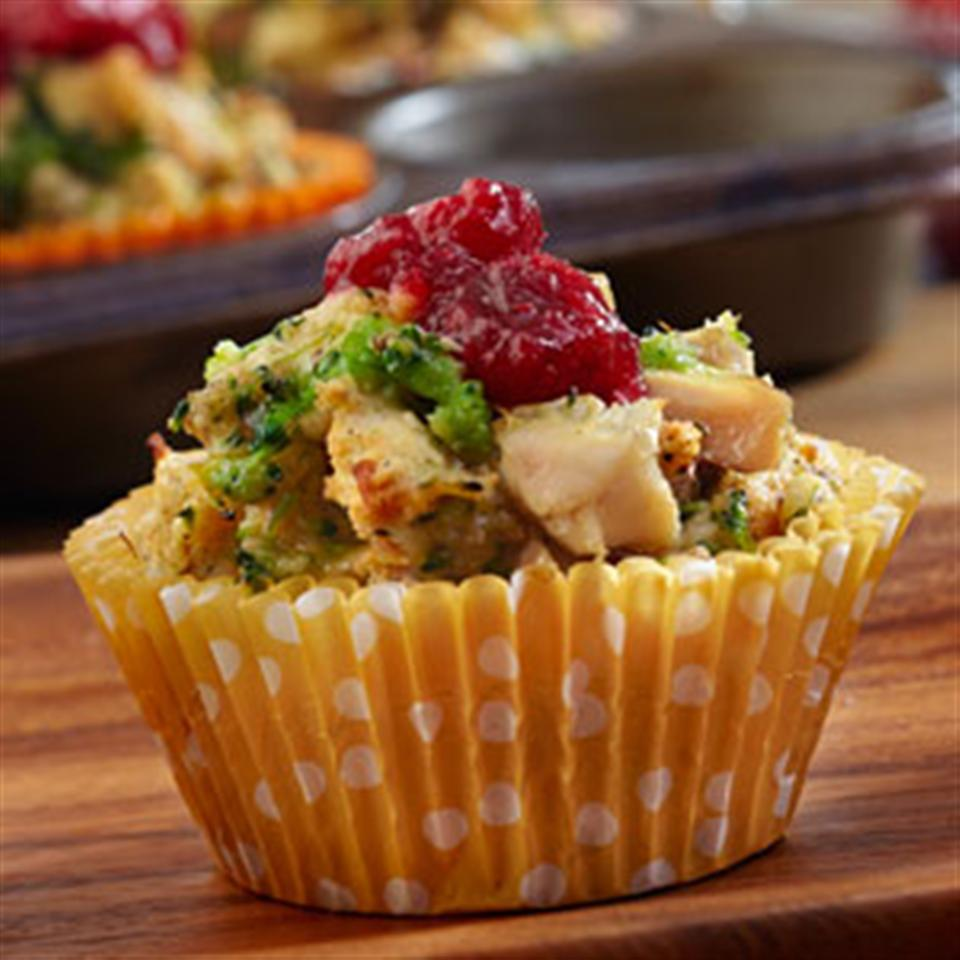 Mini Chicken and Stuffing Cups Trusted Brands