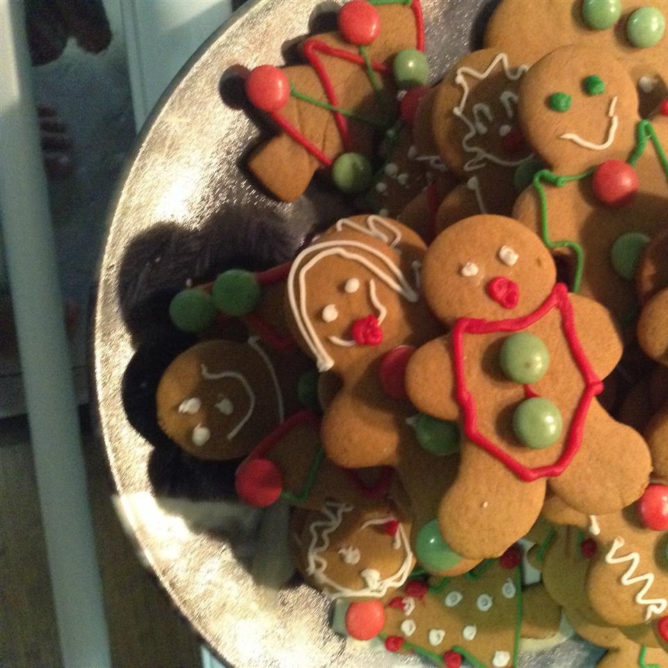 Gingerbread Men Cookies Kathie Mac