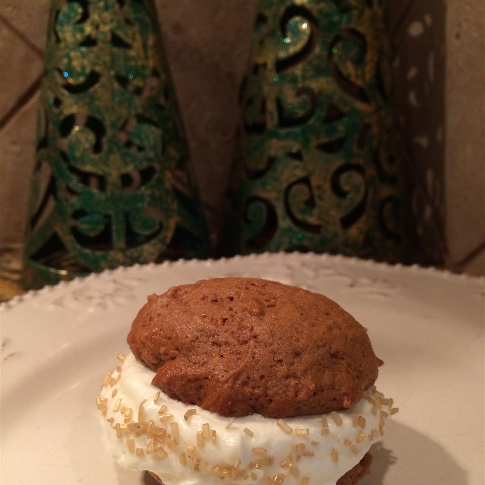 Gingerbread Whoopie Pies