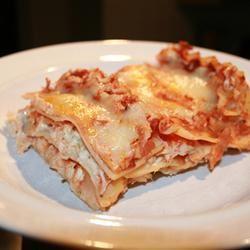 Creamy Chicken Lasagna Tia the Baker