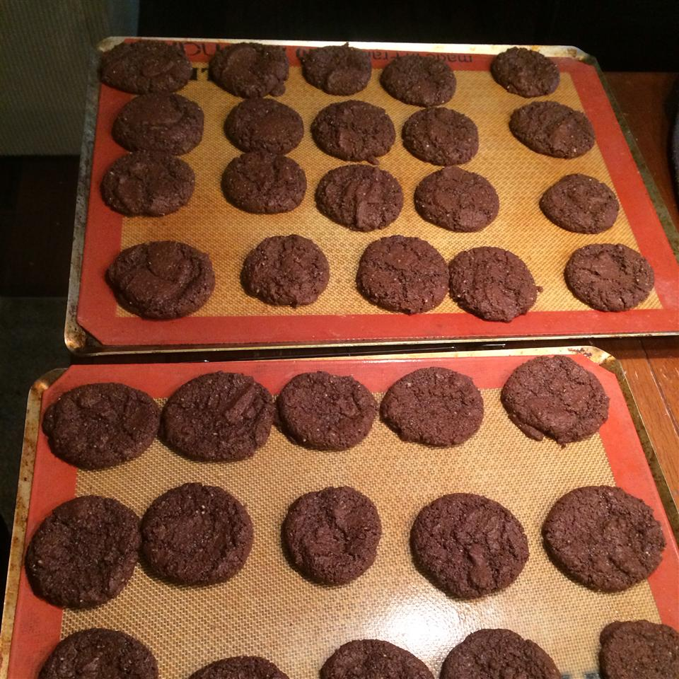 Gluten-Free Double Chocolate Cookies pinder92