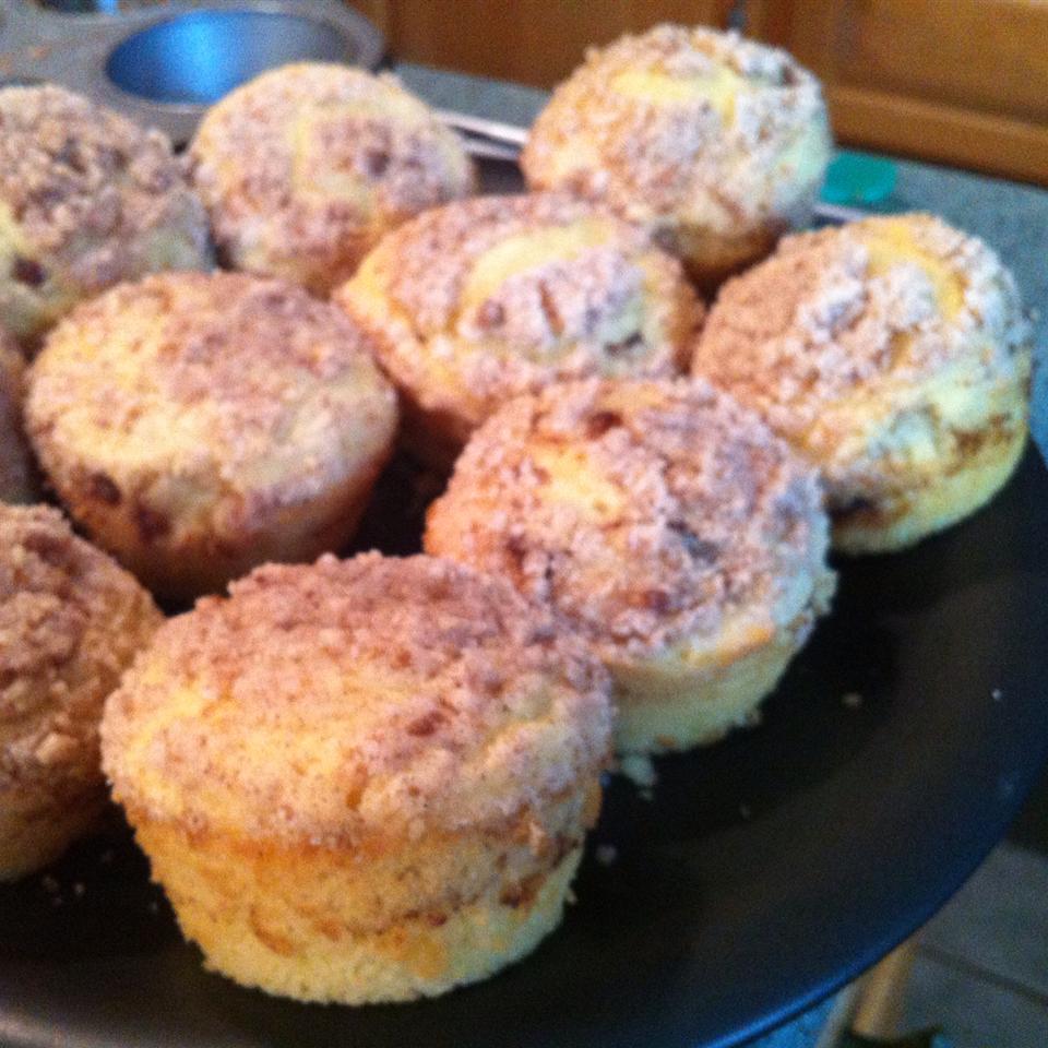 Cinnamon Streusel Orange Muffins