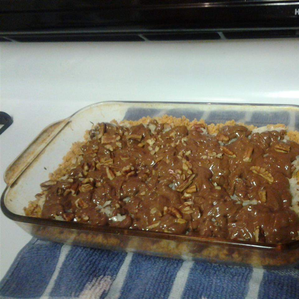 Chocolate Coconut Candy Bars