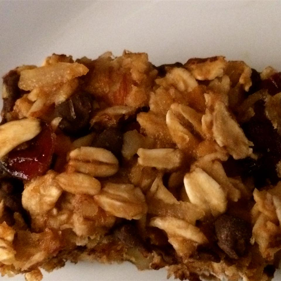 Sweet and Tart Vegan Granola Bar 1DRIFTER