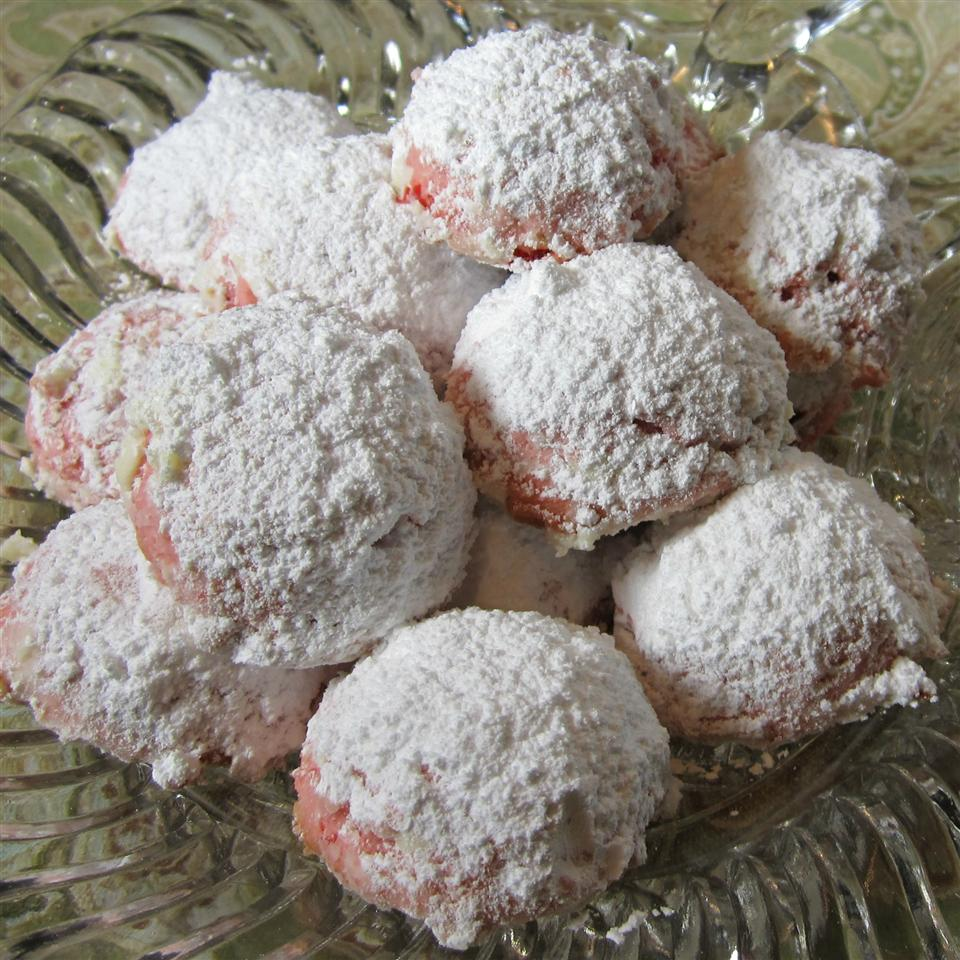 Cherry Snowball Cookies Deb C
