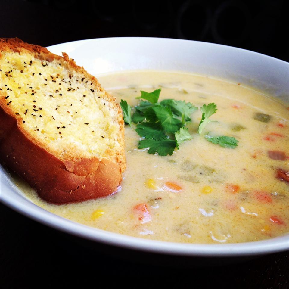 Gramma Brown's Corn Chowder Chef Calvin Wright