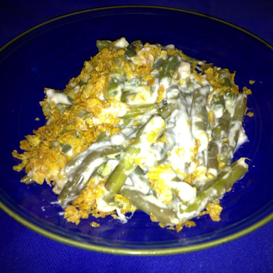 Swiss Cheese Green Bean Casserole Sheri Shirey