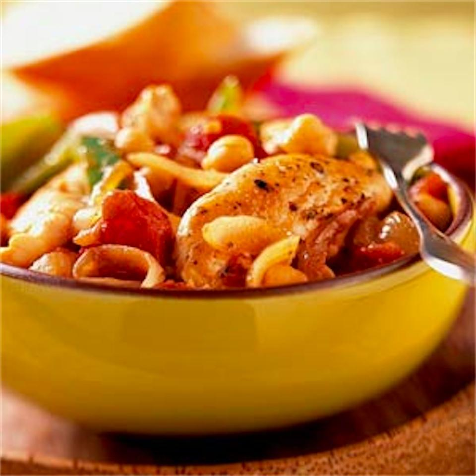Leah's Chicken with Chickpeas Steve