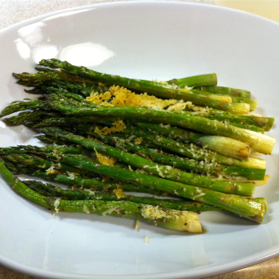 Asparagus with Parmesan Crust rgrieco
