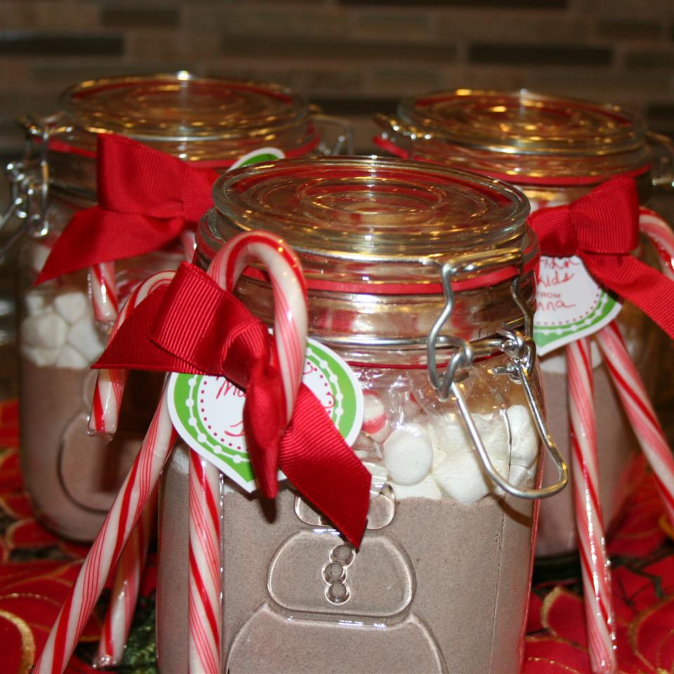 Hot Cocoa Mix in a Jar Ms. Chef Esh