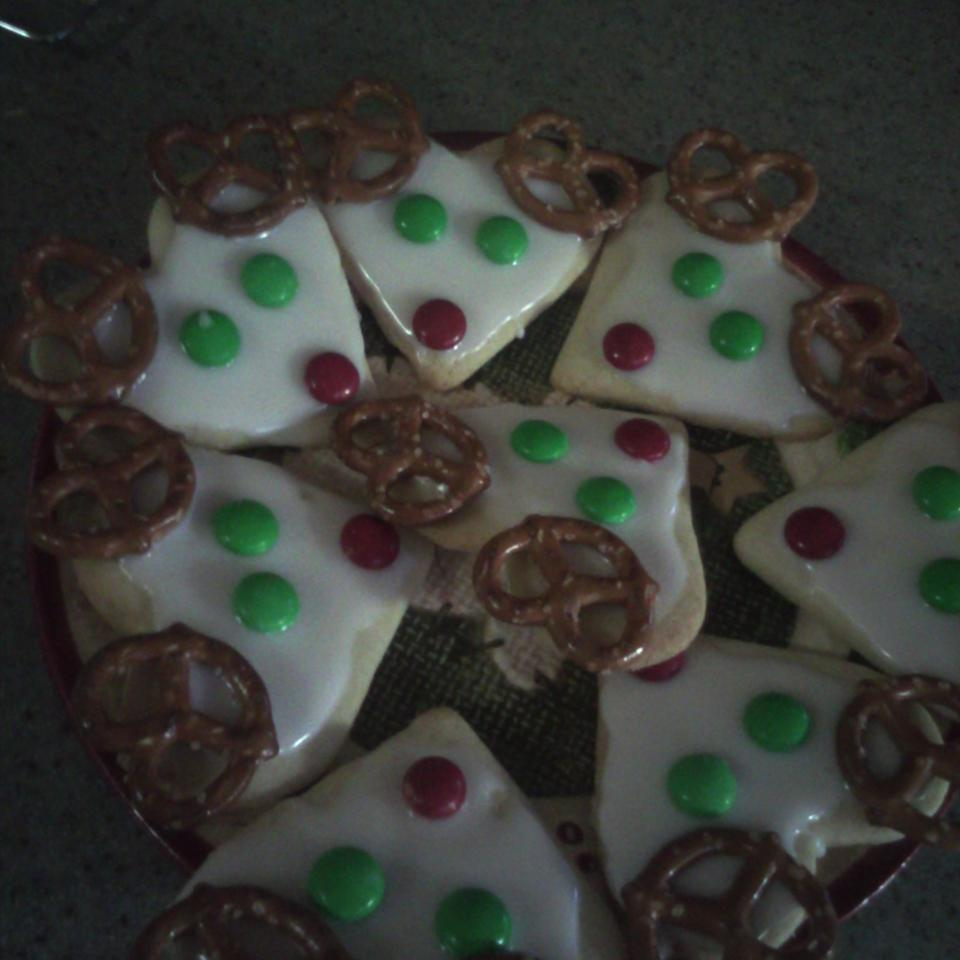 Frosted Reindeer Cookies Sparksmom