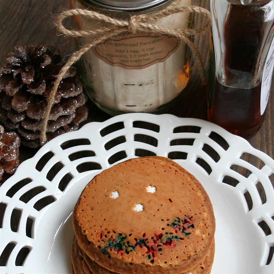 Grandma's Gingerbread Pancakes Jennifer Baker