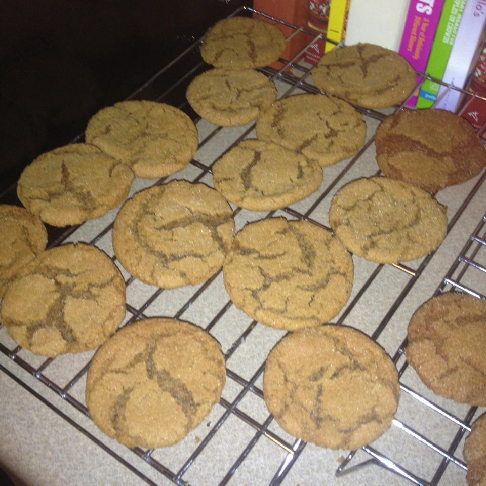 Molasses Sugar Cookies Joanna Johnson