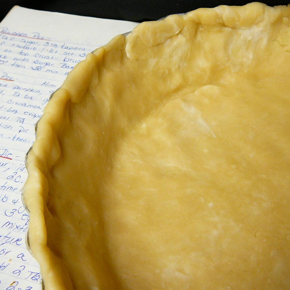 Flaky Food Processor Pie Crust Molly