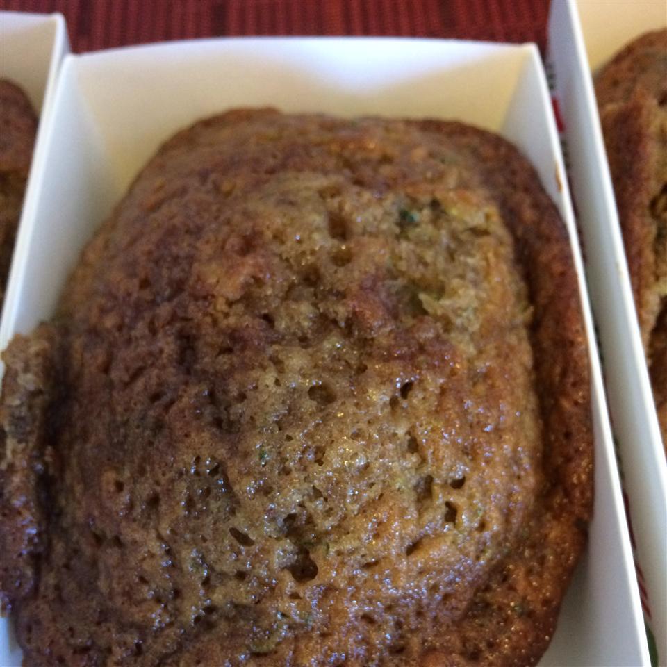 Caley's Classic Zucchini Bread ycamejo