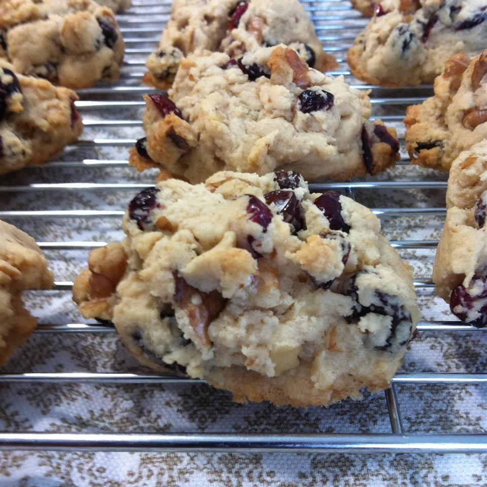 Cranberry Walnut Cookies Candace Ernst