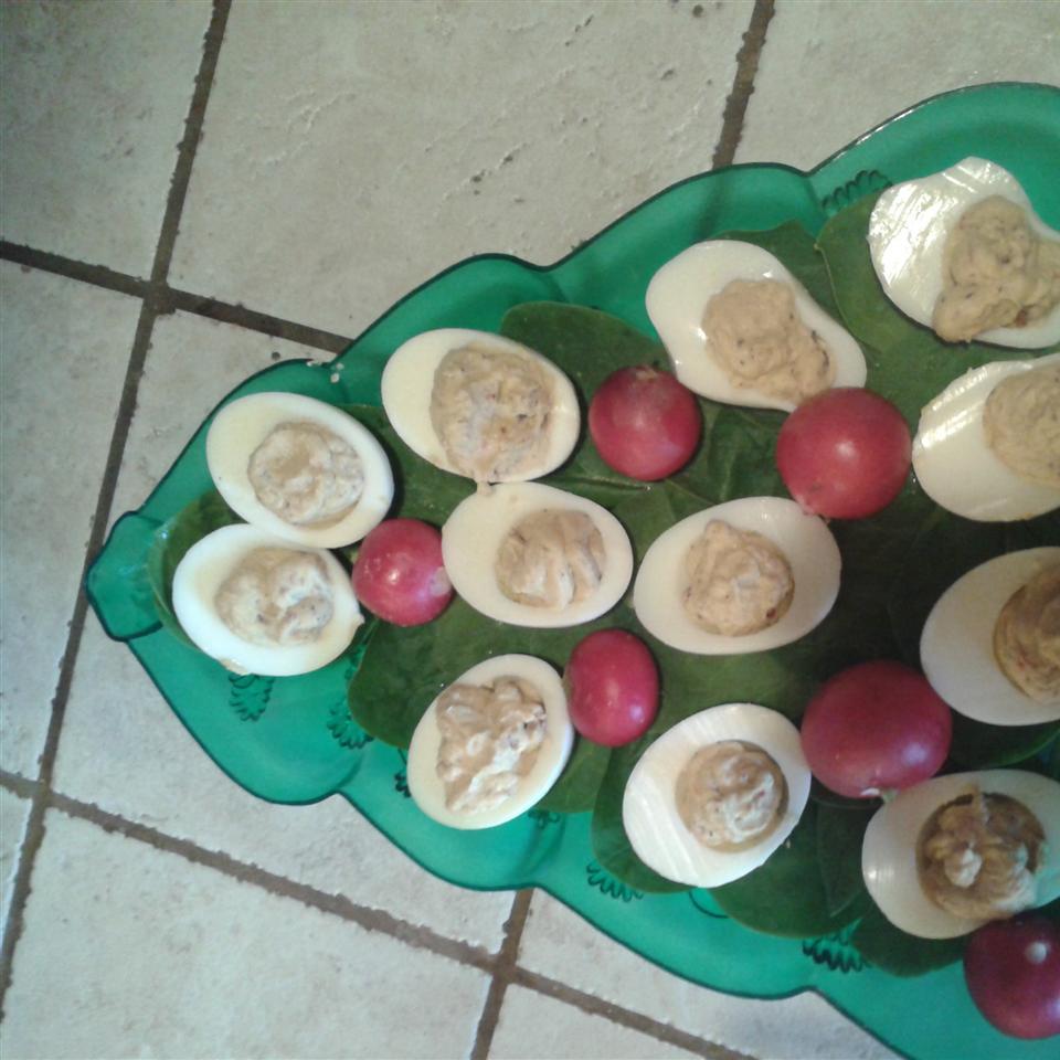 Bacon-Balsamic Deviled Eggs