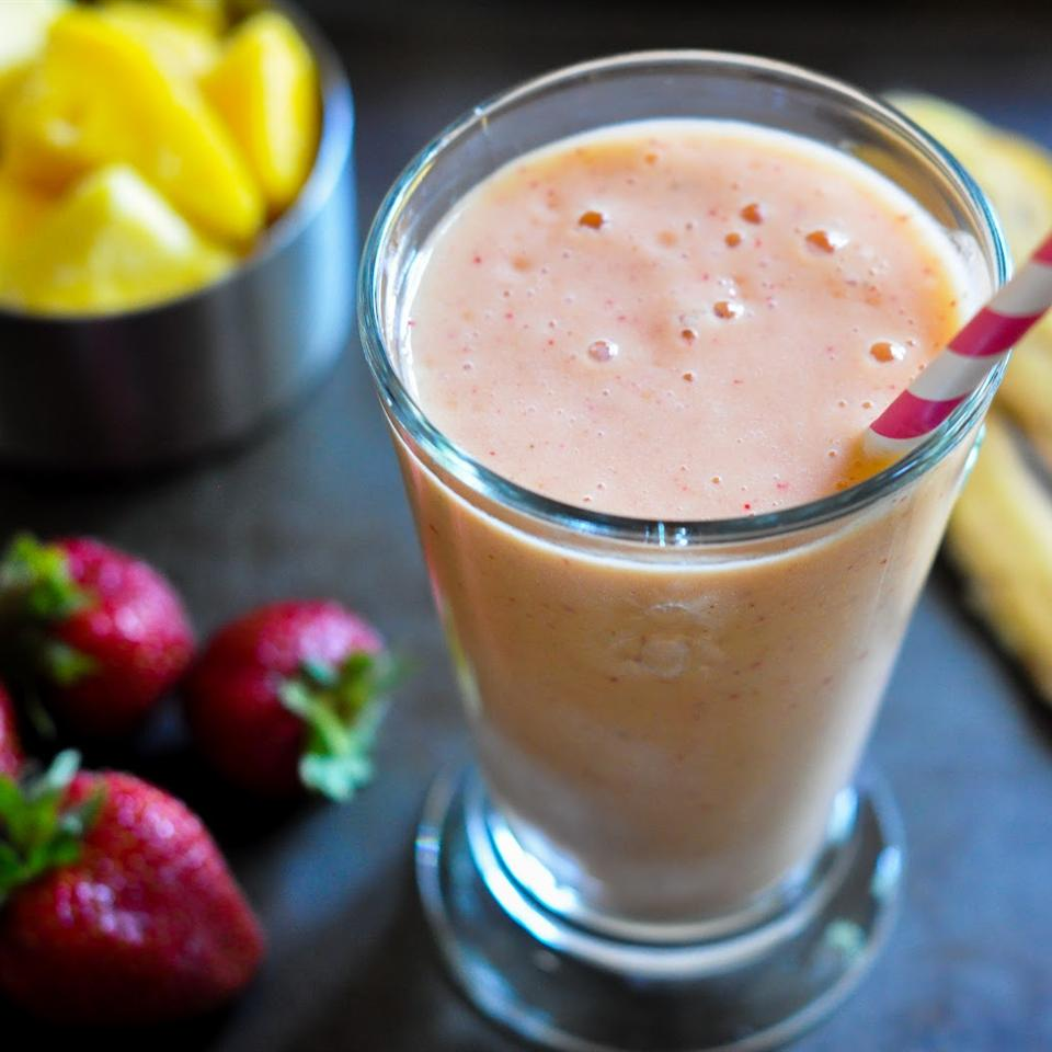 Strawberry Smoothie with OJ