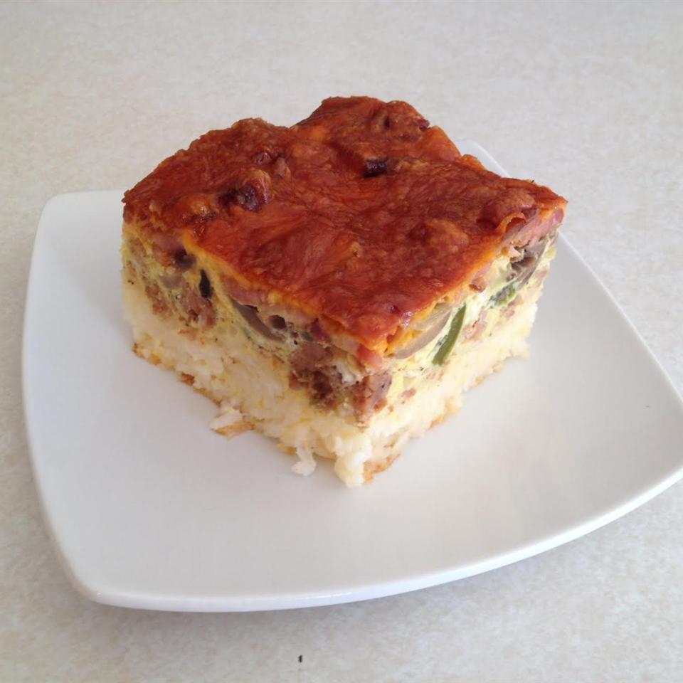 Rice-Based Breakfast Bake Jeremy Bruecker