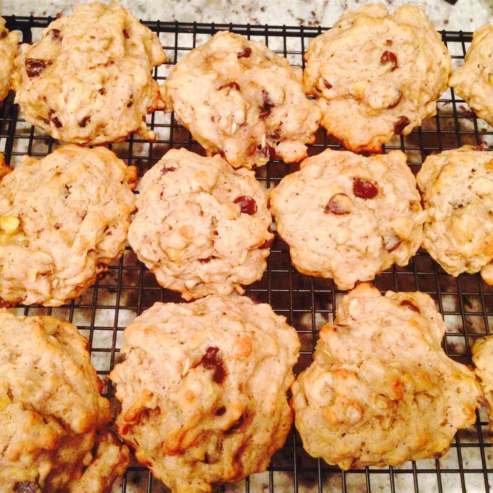 Banana Oatmeal Cookies I katieattheperk