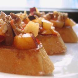 Sweet Summer Fruit Bruschetta FoodFan