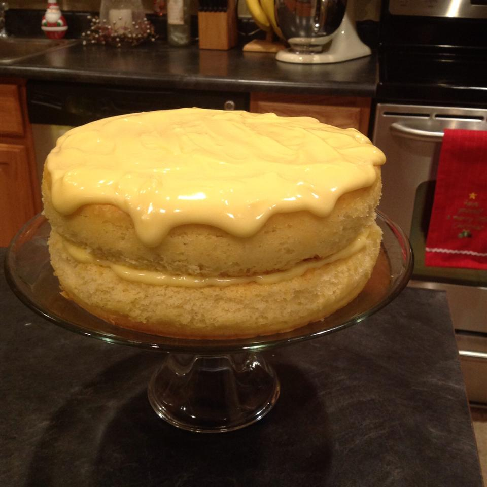 Eggnog Layer Cake Kuteketch