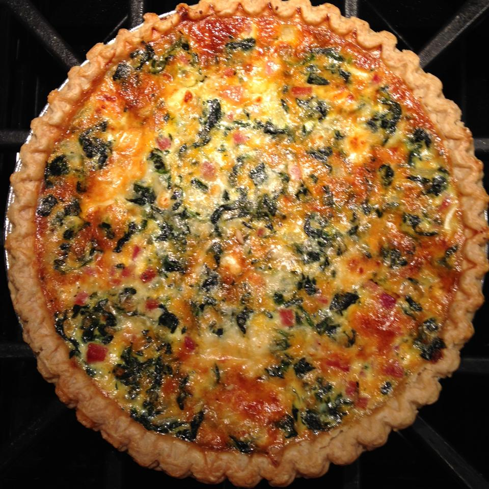 Transformed Spinach Mushroom Quiche ampetrow