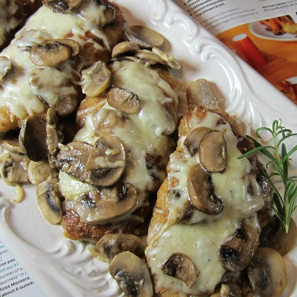 Chicken With Mushrooms