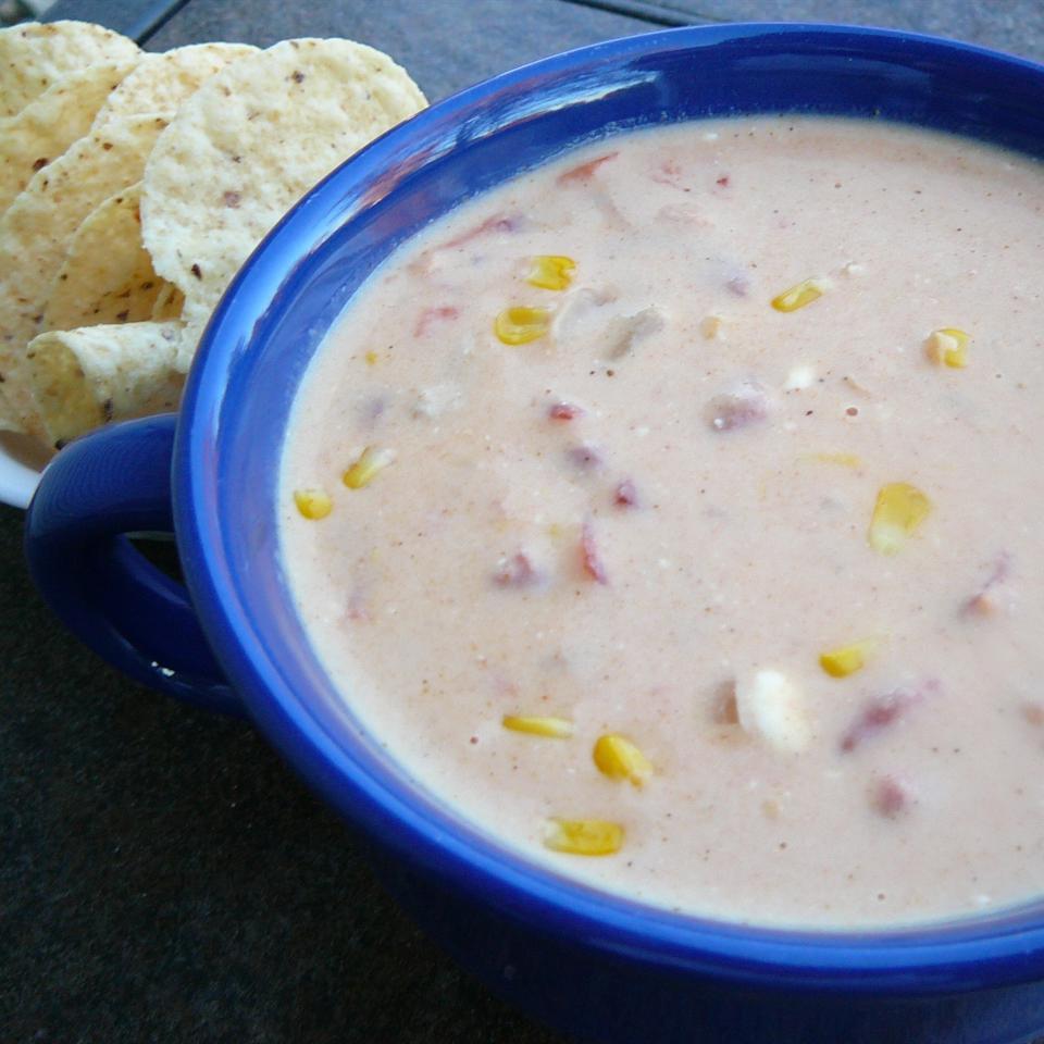 Cheesy Tortilla Soup Molly