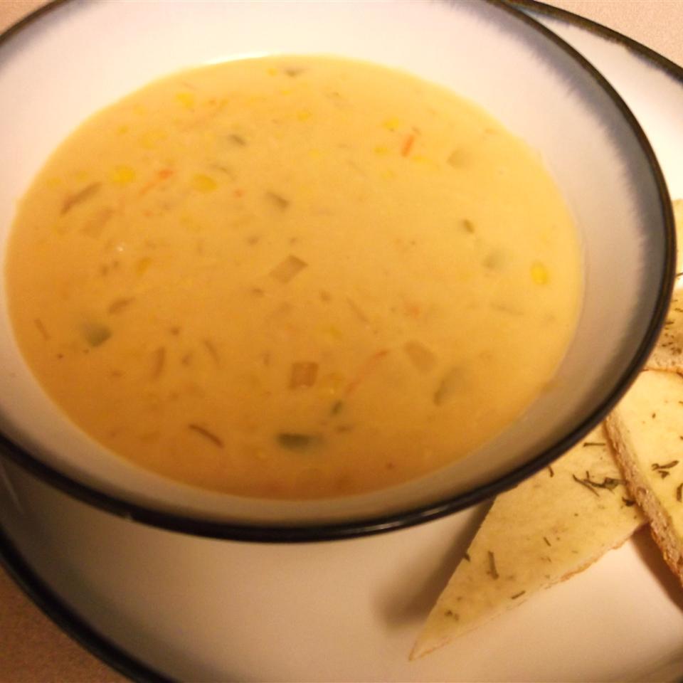 Easy Vegetarian Corn Chowder Ann Marie Natal