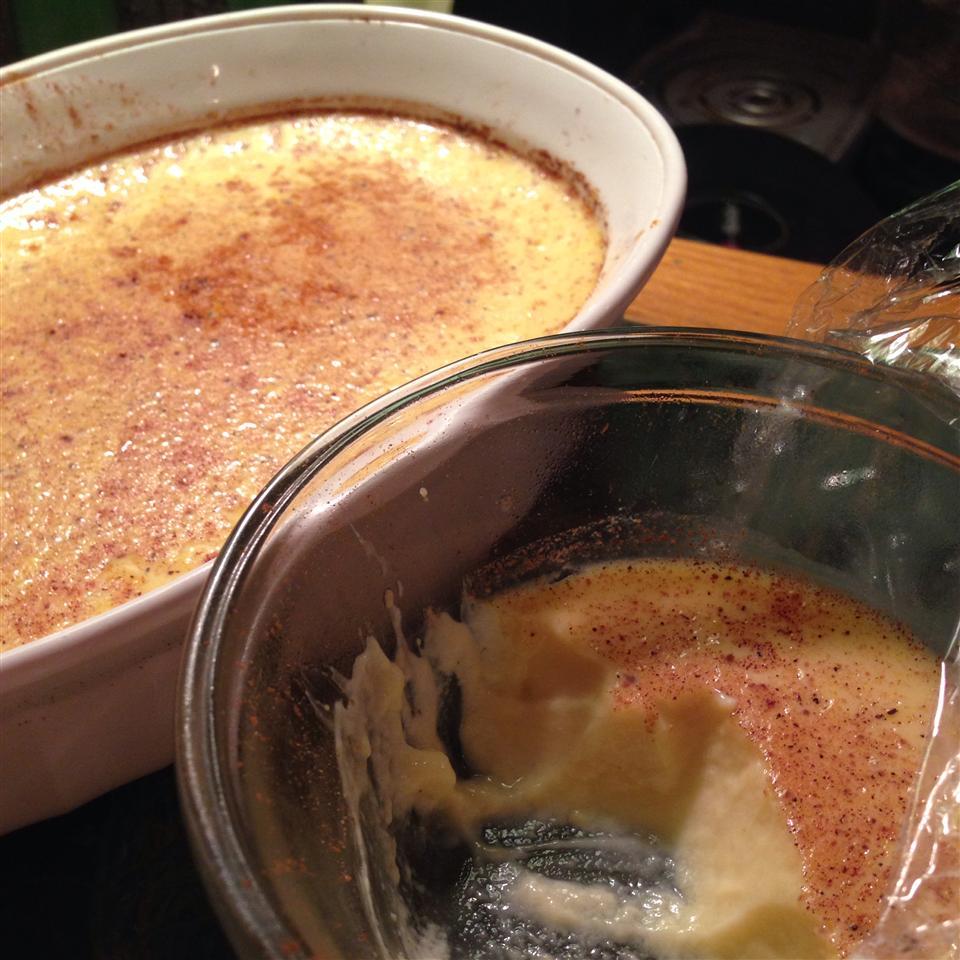 Eggnog Custard Erica Belkin
