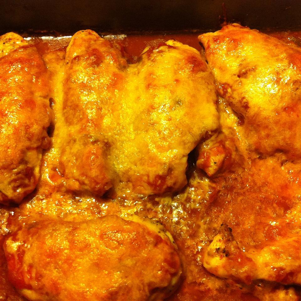 Healthy Mexican Chicken Bake jennafer25