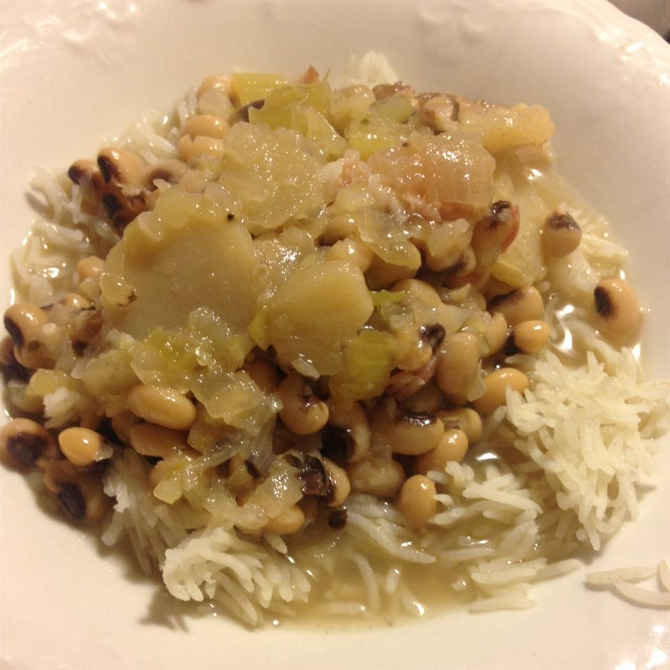 Lucky New Year's Black-Eyed Pea Stew Norma