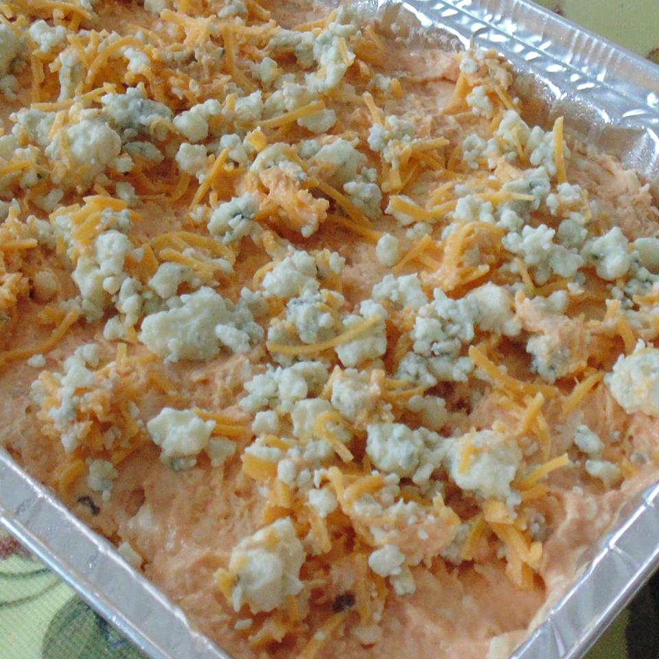 Easy Buffalo Chicken Dip jesgrages