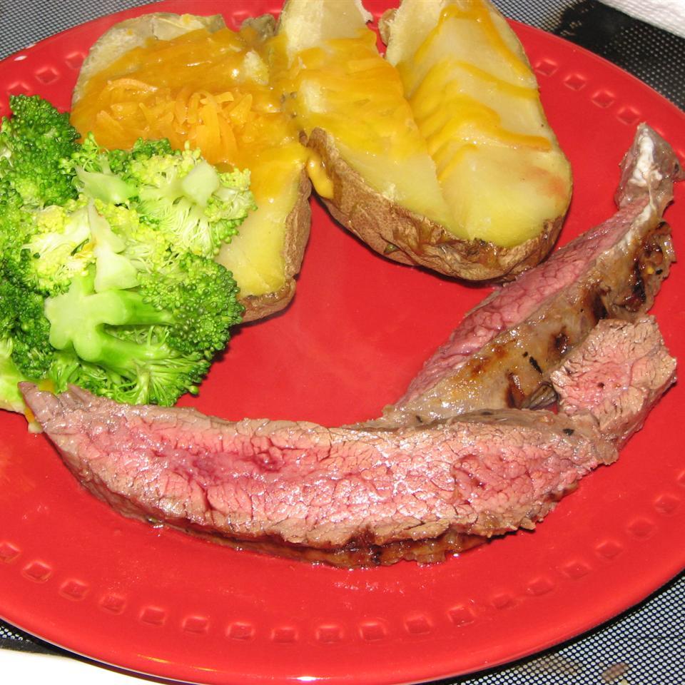 Citrus-Ginger Flat Iron Steak Marissa Kel