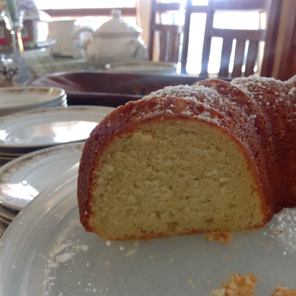 Greek Lemon Cake Carol