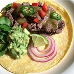 Carne Asada Tacos SunnyByrd