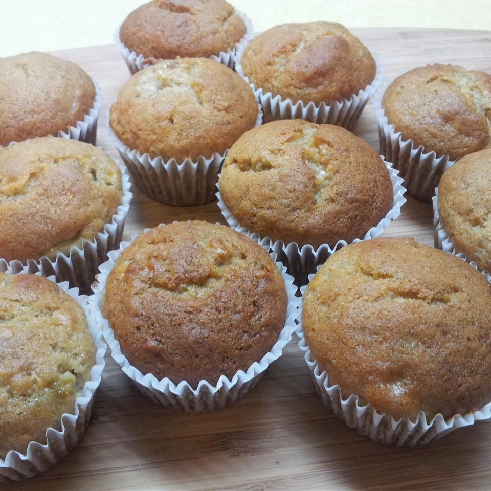 Lighter Banana Muffins Clease