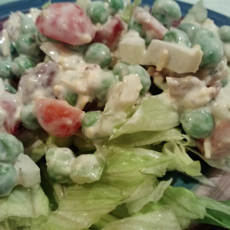 Seven Layer Mixed Up Salad