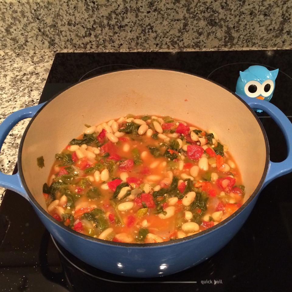 Bean and Kale Ragu