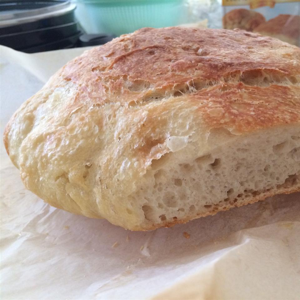 No-Knead Artisan Style Bread sim8