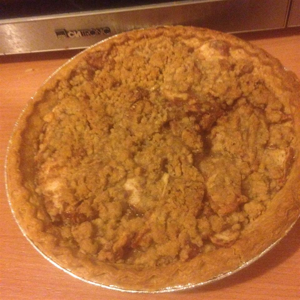 Crumb Apple Pie