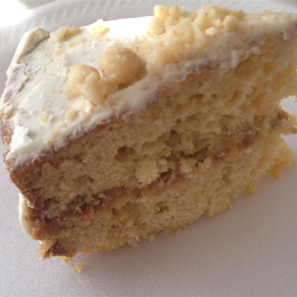 Pineapple Macadamia Nut Cake mitchell0819
