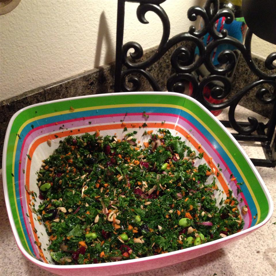 Super Summer Kale Salad Loopy4u