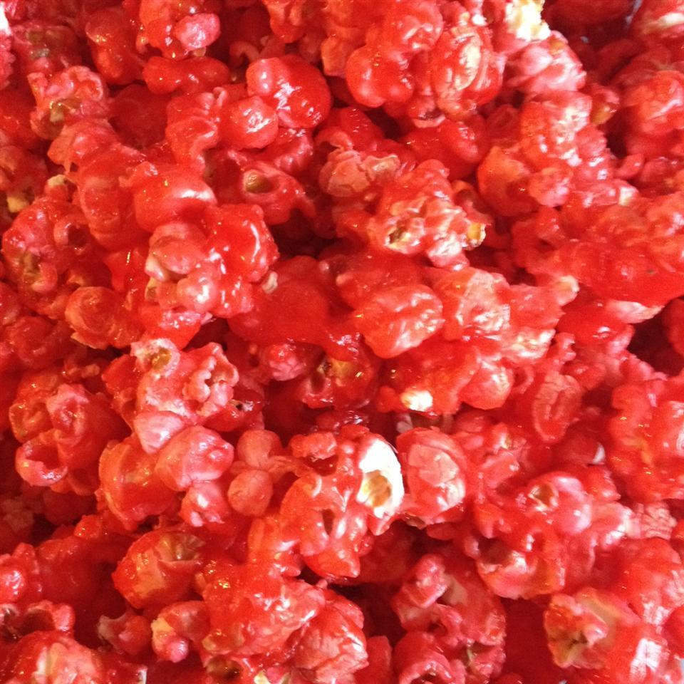 Cinnamon Heart Popcorn cheesecakelover