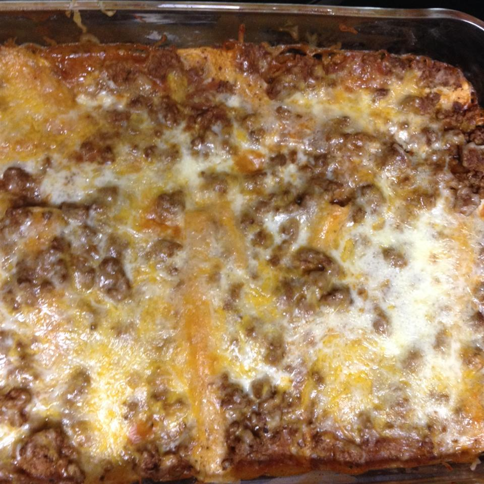 Tex-Mex Beef and Cheese Enchiladas Jcsmom1201