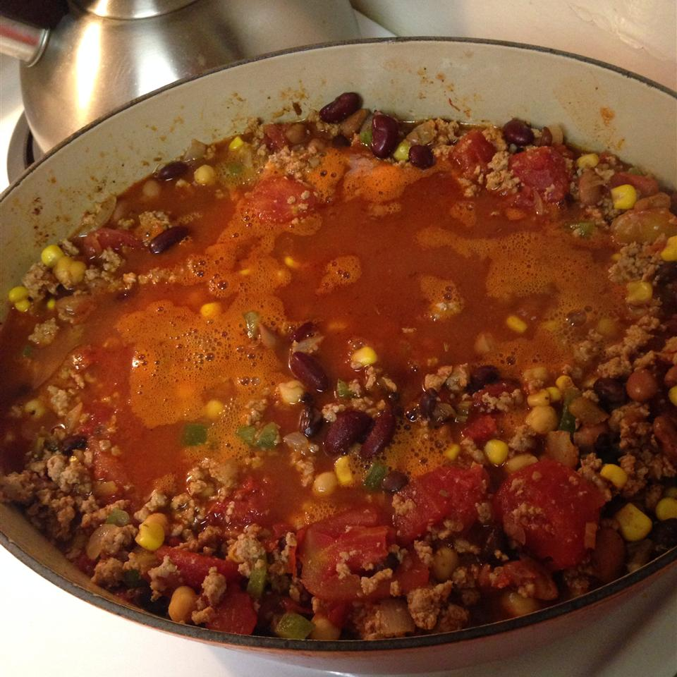 Chili With Turkey and Beans bscherba